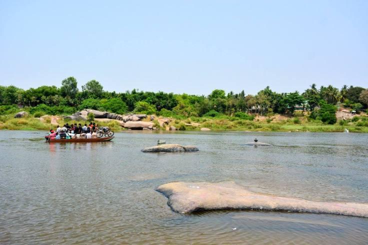 Boat Ride in Tungabhadra River