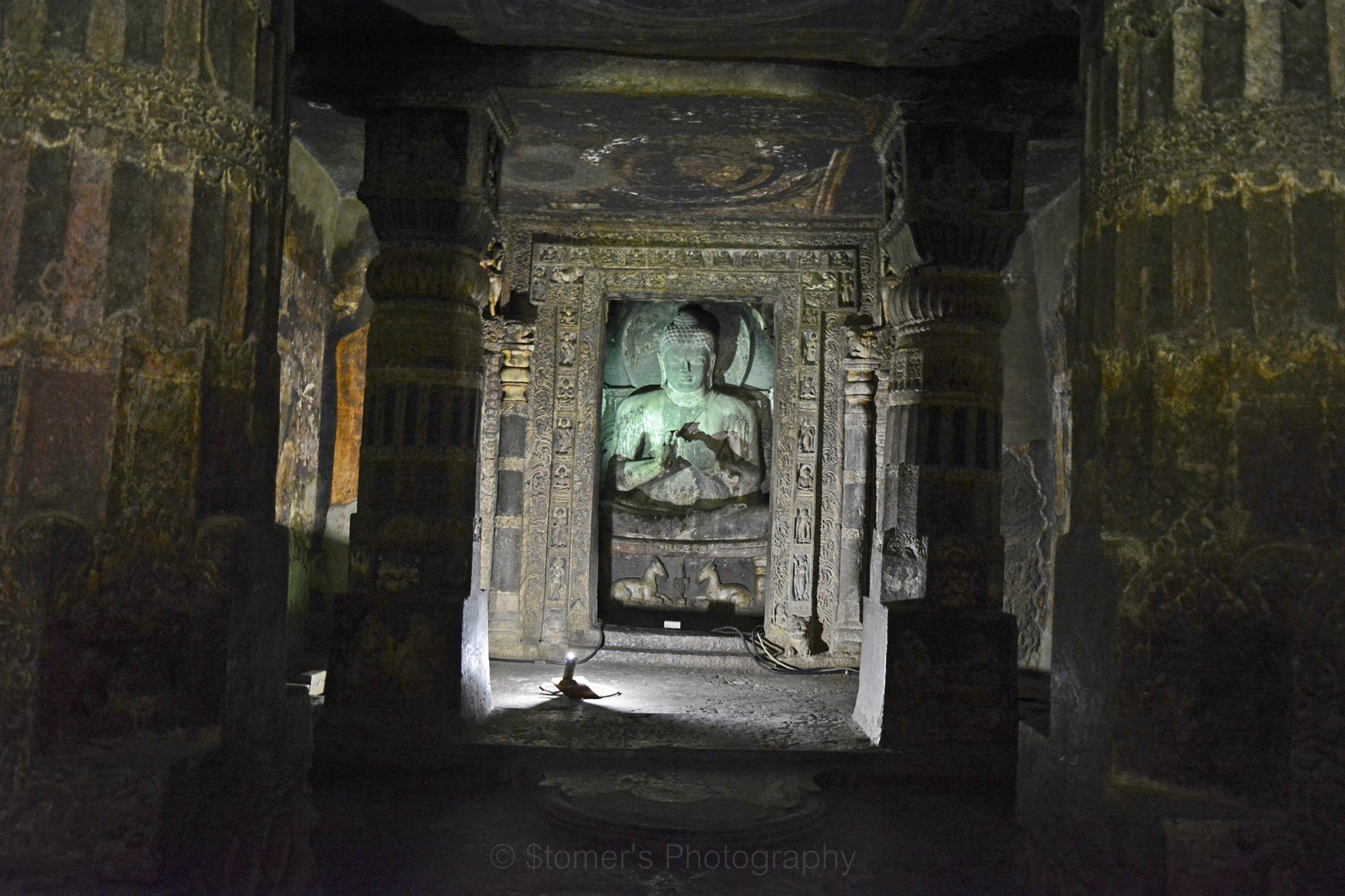 Buddha in Ajanta Caves