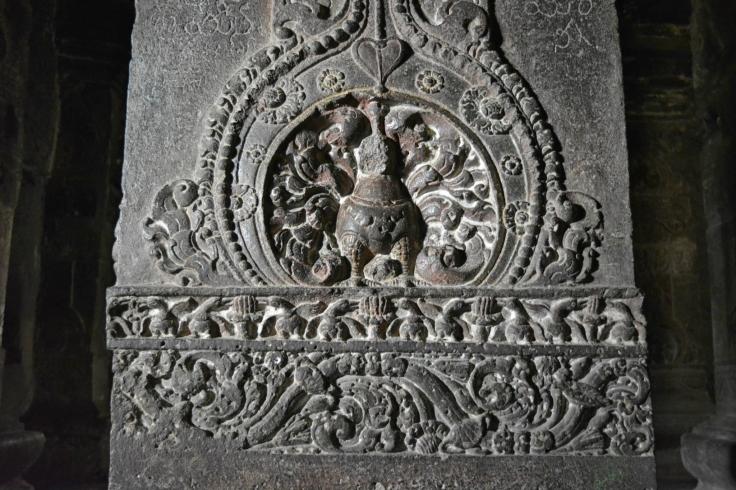 Carved Pillars inside Caves