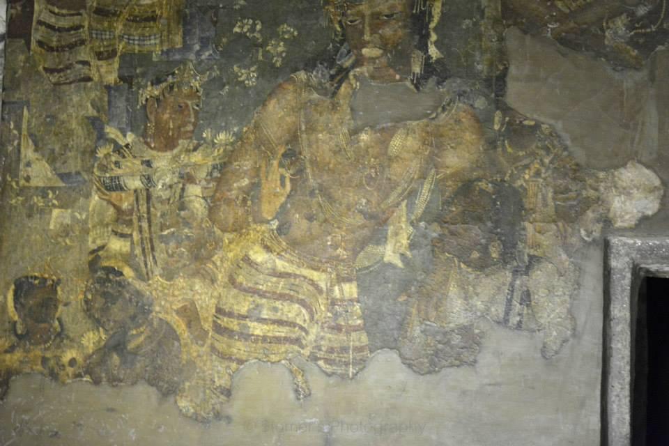Indian painting of Vajrapāṇi Bodhisattva