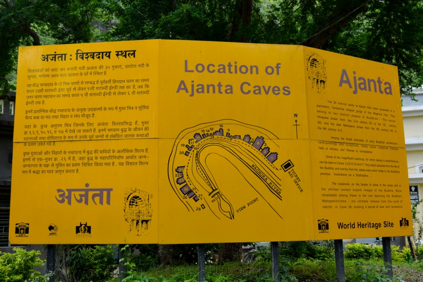 Ajanta Caves Description