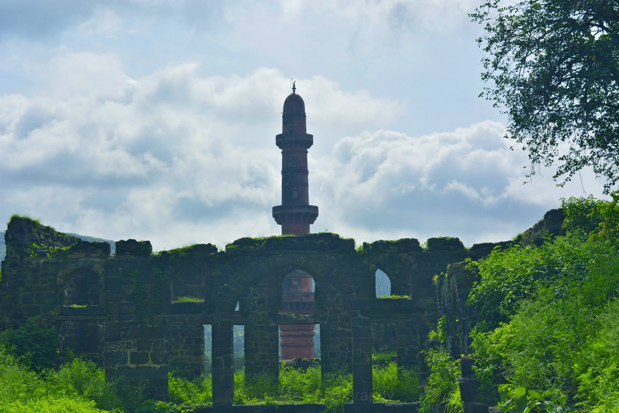 Chand Minar at Daulatabad Fort