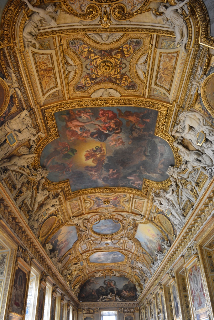Artistic Ceilings in Louvre