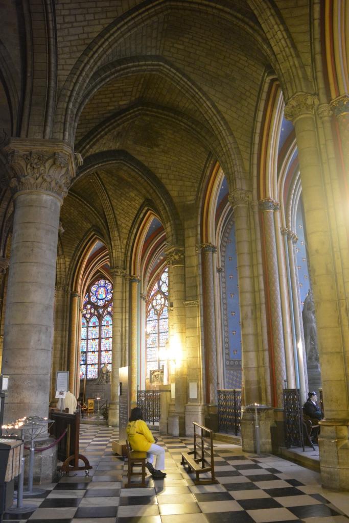 Interior - Notre-Dame Paris