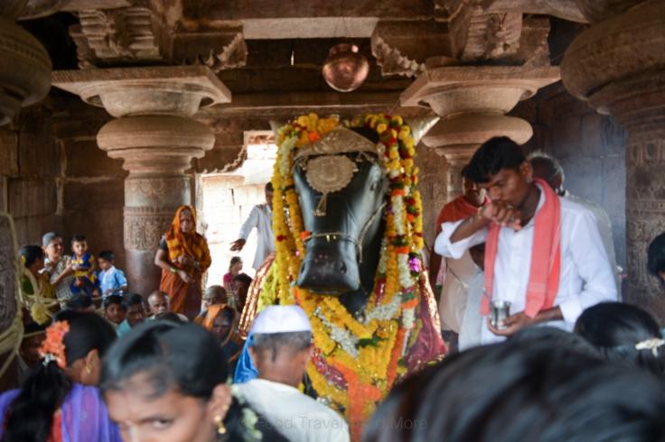 Nandi Overlooking Shivalinga