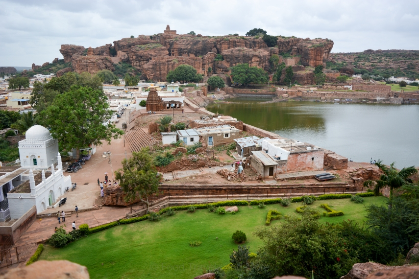 Agastya Lake and Badami Fort