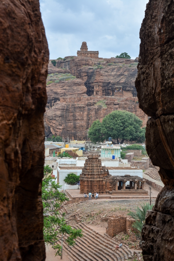From Badami Temple Caves