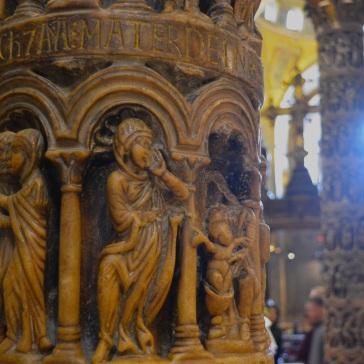 Marble Work inside San Marco Bascilica