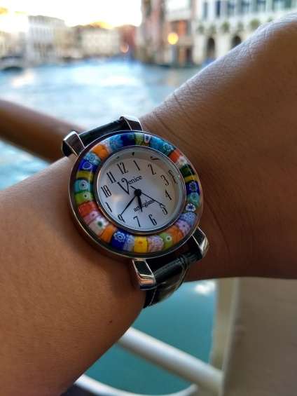 Murano Glass Watch