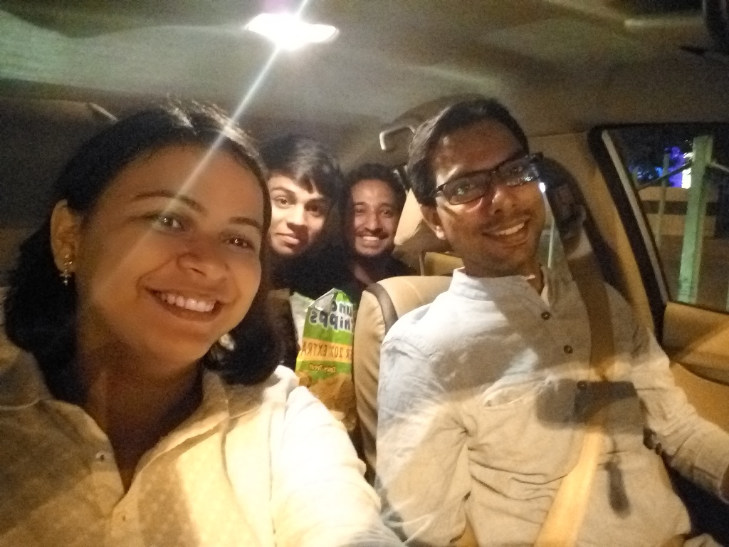 On the way Gurgaon to Delhi
