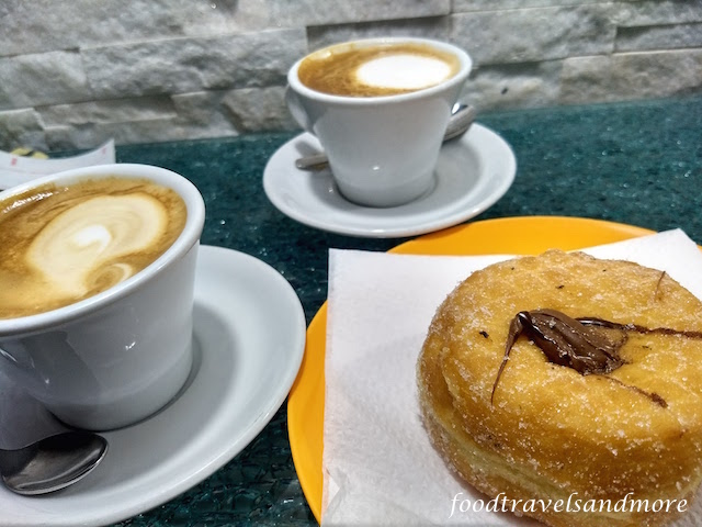 Cappuchino and Bombolini