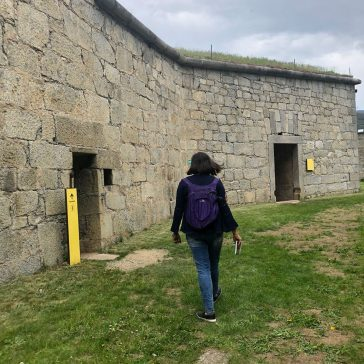 Inside Franzensfeste Fortress