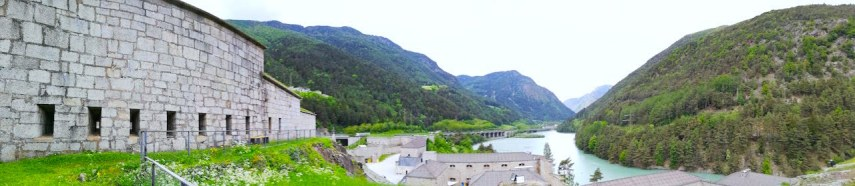Panaroma View of Franzensfeste Fortress