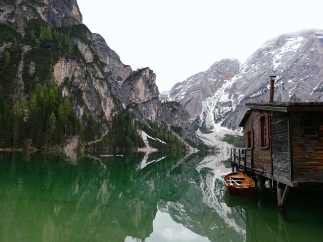Pragser Wildsee Lake
