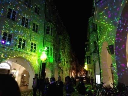 Shimmery Town in Light Festival