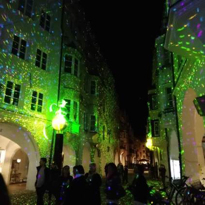 Shimmery Town in Light Festival