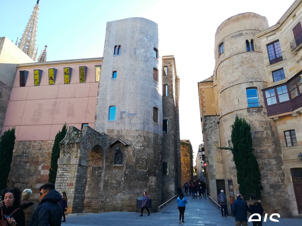 Ancient Roman Gate Barcelona