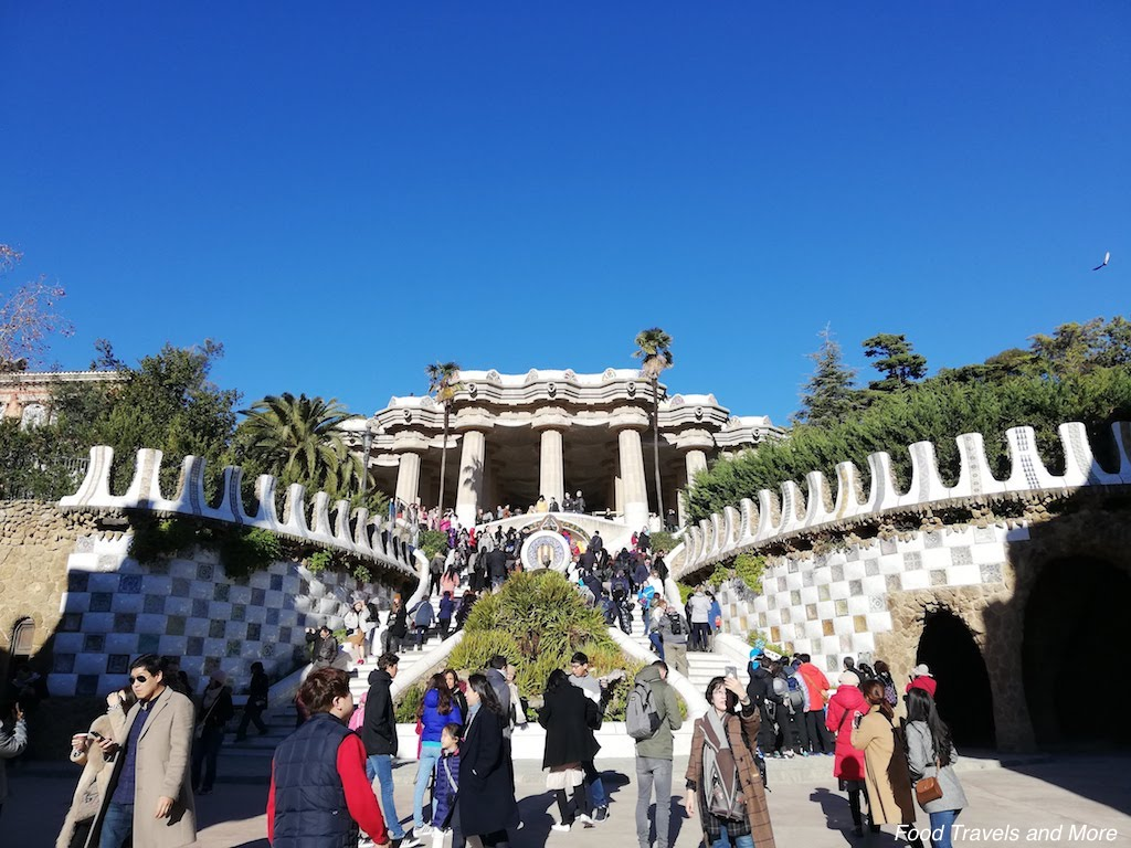 Park Guell Main Area