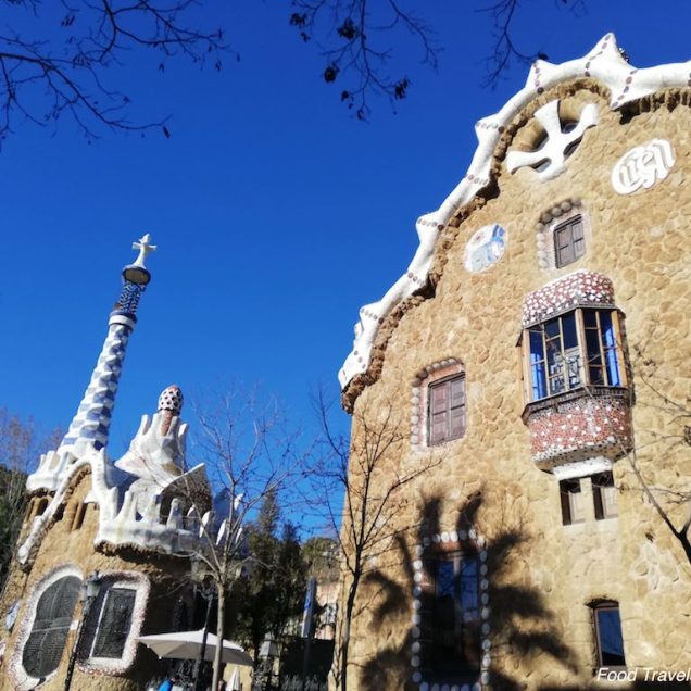 Park Guell Buildings