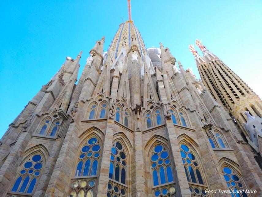 Sagrada Familia Back View