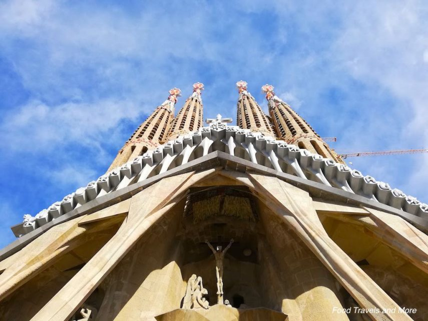 Sagrada Familia Front View