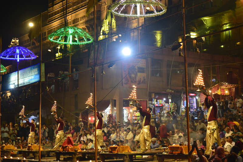 Aarti at Dashashwamedh Ghat