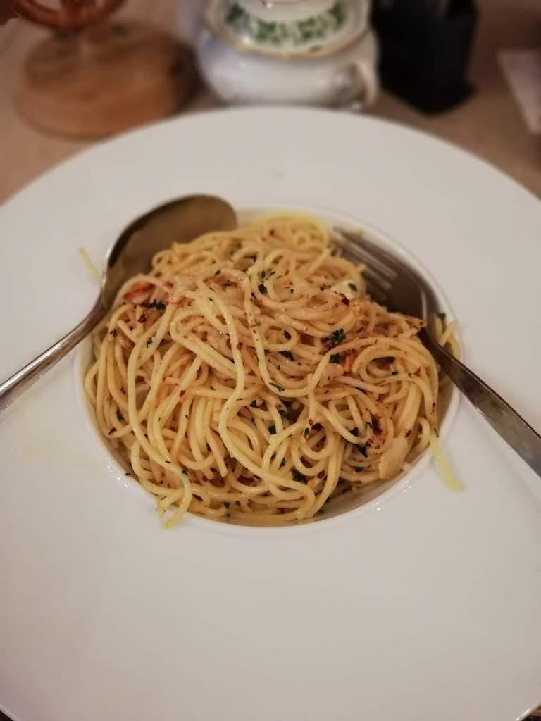 Humble Aglio Olio Pasta