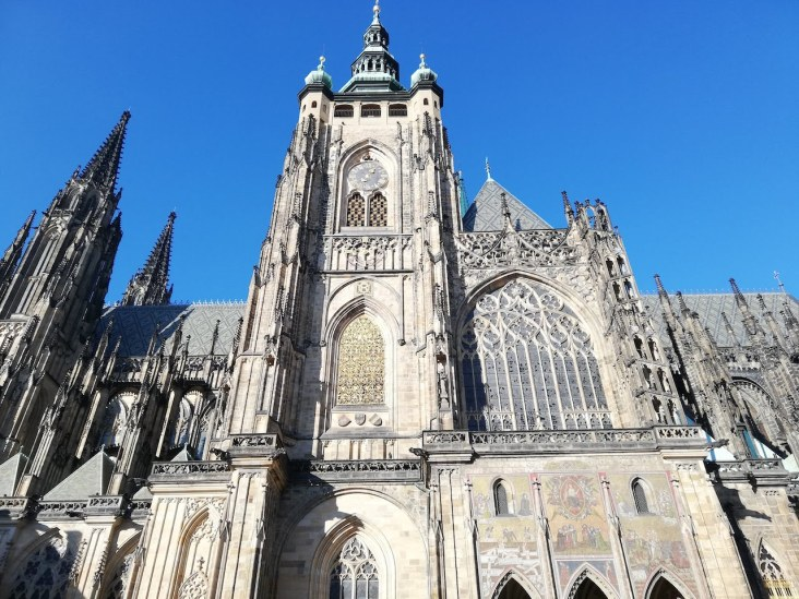 Golden Gate, Main View at St Vitus Cathedral