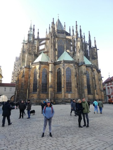 Eastern Facade at St Vitus Cathedral