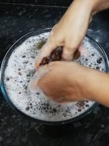 Crush Soaked Soapnut