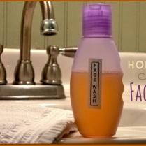 Home made facewash