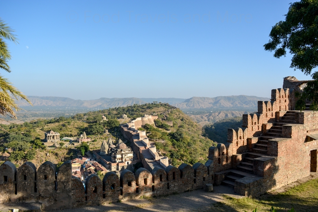 Longest Wall In India - Kumbhalgarh Fort