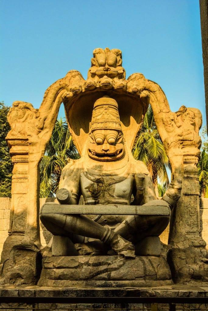 Narasimha Vigraha, Hampi