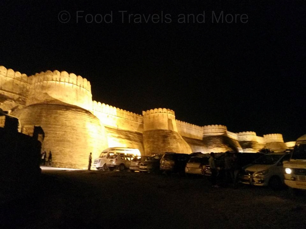 Night View of Kumbhalgarh